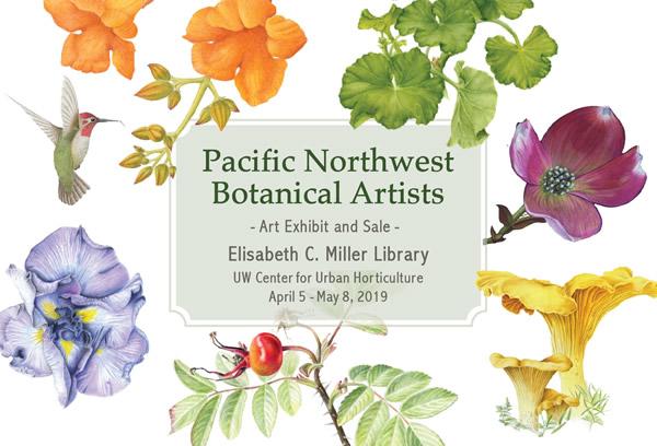 Art Exhibit: Pacific Northwest Botanical Artists Group Show