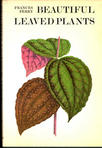 Beautiful leaved plants book cover