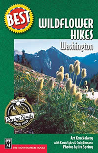 Best wildflower hikes of Washington book cover