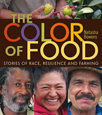 Color of food book cover
