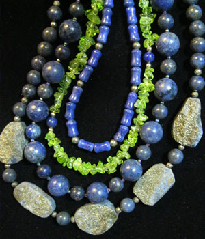 Dorothy's necklaces