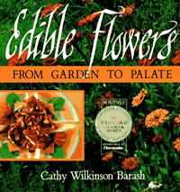 Edible flowers cover