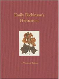 Emily Dickinson's herbarium cover