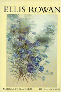 Flower paintings of Ellis Rowan book cover