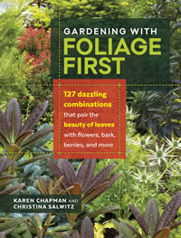 Gardening with foliage first cover