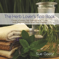 Herb lover's spa book cover