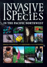 Invasive species of the Pacific Northwest cover