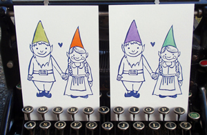 Jenny's gnome card