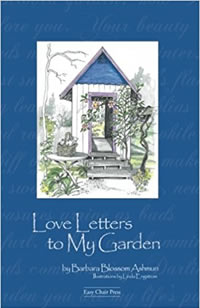 Love letters to my garden  book cover