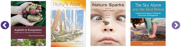 selection of outdoor learning book covers