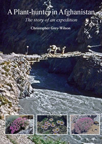 a plant hunter in Afghanistan book cover