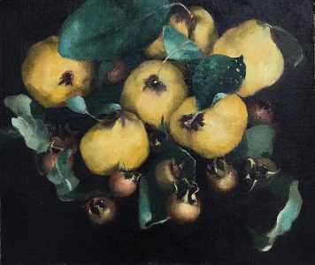 Medlar Fruits and Quinces by Renee Simard