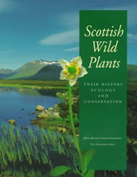 Scottish wild plants cover