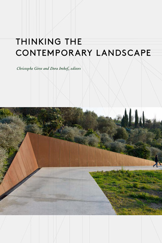 [Thinking the Contemporary Landscape] cover