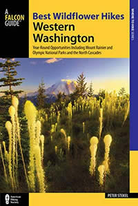 Best wildflower hikes of western Washington book cover
