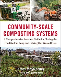 Community-scale composting systems cover