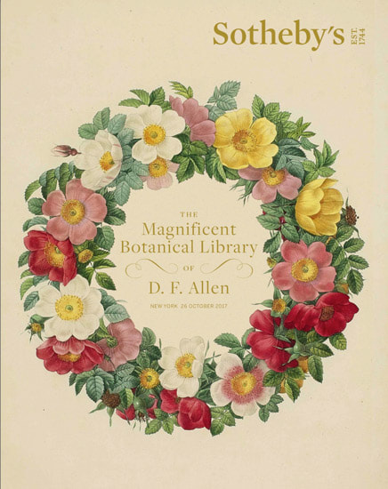 The magnificent botanical library of D.  F.  Allen.