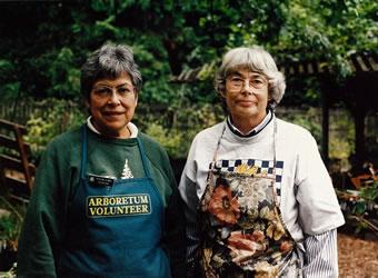 Barbara Harris (and friend)