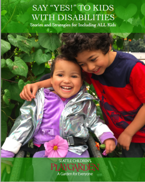 """Say """"Yes!"""" to kids with disabilities : stories and strategies for including ALL kids / by Elizabeth Bullard, Hannah Gallagher, & Adana Protonentis."""
