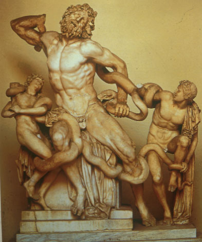 laocoon and his sons analysis