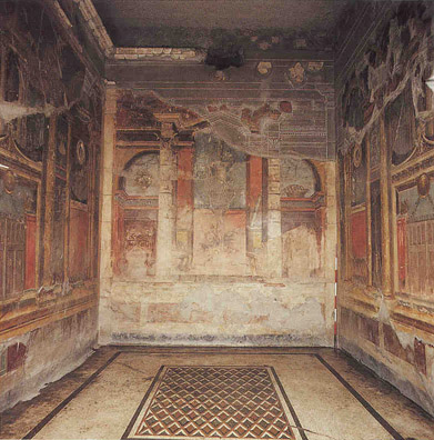 view article the four styles of roman wall paintings