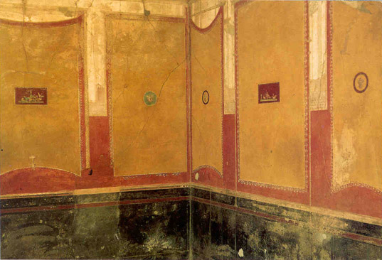 View Article: The Four Styles of Roman Wall Paintings