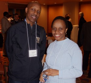 Andrew Mujugira and Ruth Deya at CROI 2012