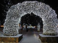 Christmas in Jackson, WY