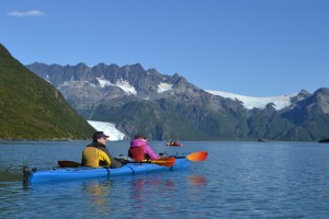 I took this picture while sea kayaking in Kenai Fjords national park in late September, at the very end of sea kayaking season.