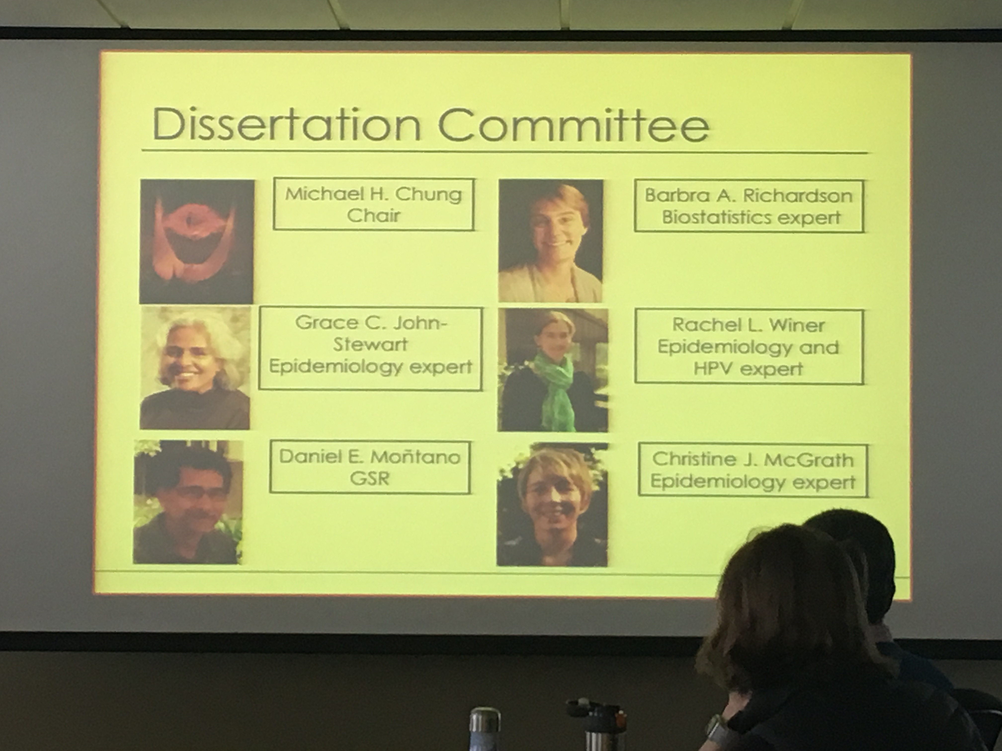Congratulations on defence of dissertation