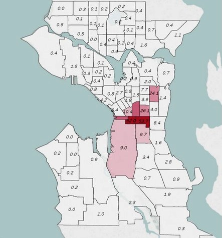 Mapping Seattle Race and Segregation