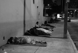 photo of Homeless Veterans on Street