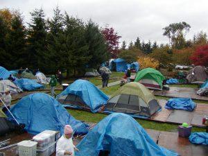 photo of Tent City
