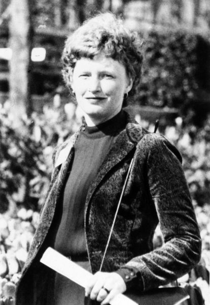 """Ruth Ballweg in 1982 at the """"Emerging Options for PAs"""" conference in WA State. This was part of a dedicated effort to save the MEDEX program."""