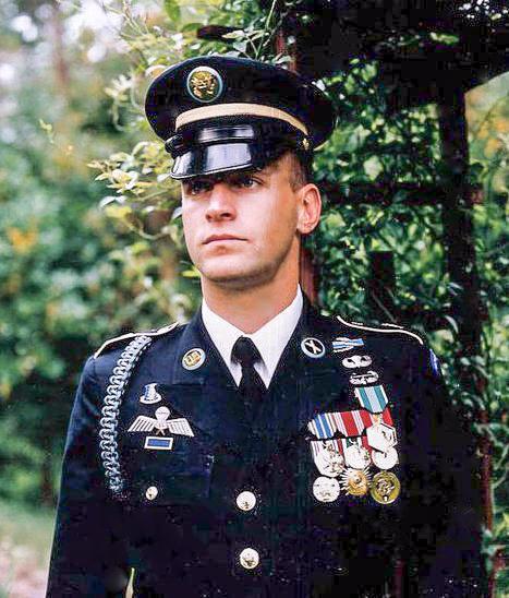 Gevin in 1998 Dress Uniform