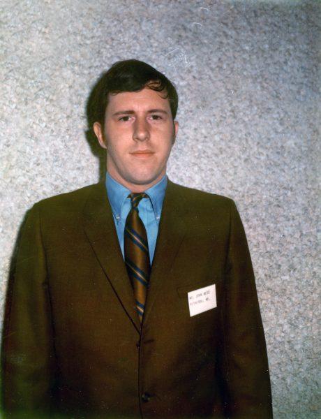 John Betz's 1969 MEDEX admissions photo