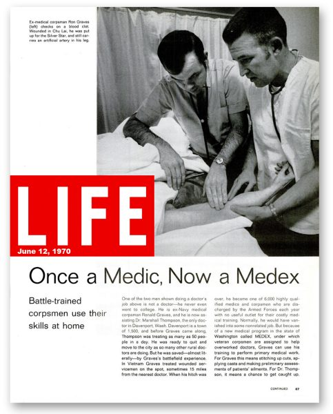 Life Magazine story from July 12, 1970
