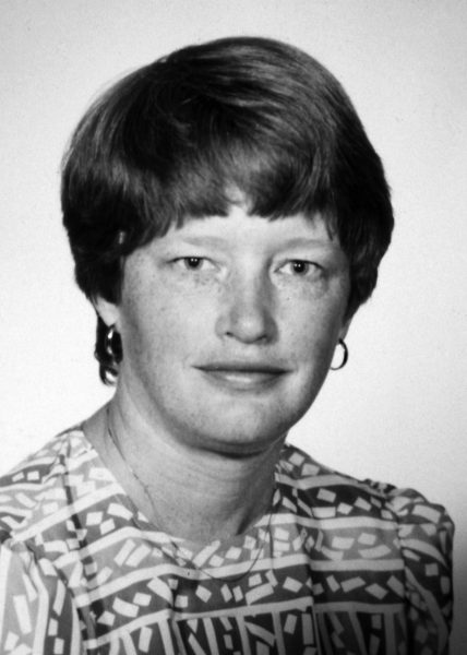 Ruth in 1985 in the official UW photo as MEDEX Program Director.