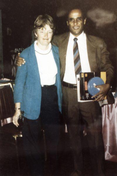 Ruth Ballweg with Dr. Richard Smith, the founder of MEDEX Northwest.