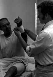 Tom Coles & patient