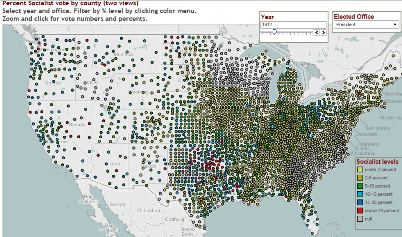 Socialist Party History and Geography - Mapping American ... on united states map, 1840 political party map, 1920 election chart, 1920s america popularity map, treaty of versailles map, 1920 election results, mandate system map, 1920 electoral college map, 1920 election poster, 1920 election hat,