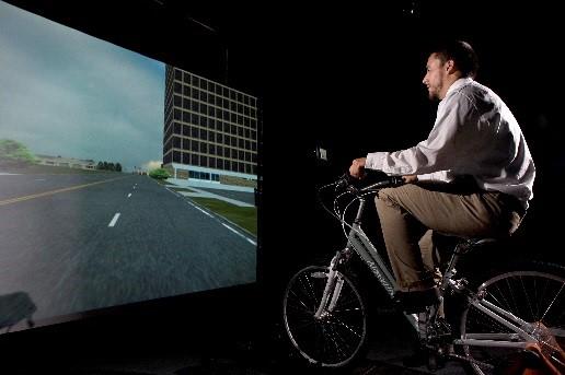 Велосипедный симулятор