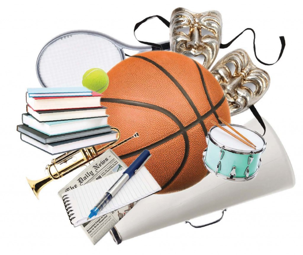 correlation of extracurricular activities and student