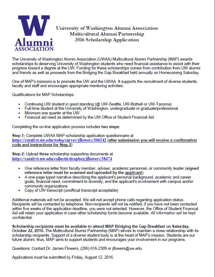 University Of Washington Scholarships >> University Of Washington Alumni Association Multicultural