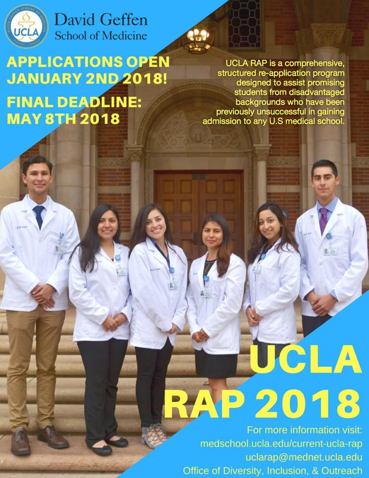 UCLA Re-Application Program 2018 | UW Pre-Health News & Events