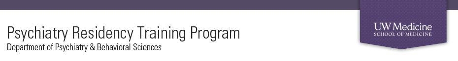 University of Washington Psychiatry Residency Training Program