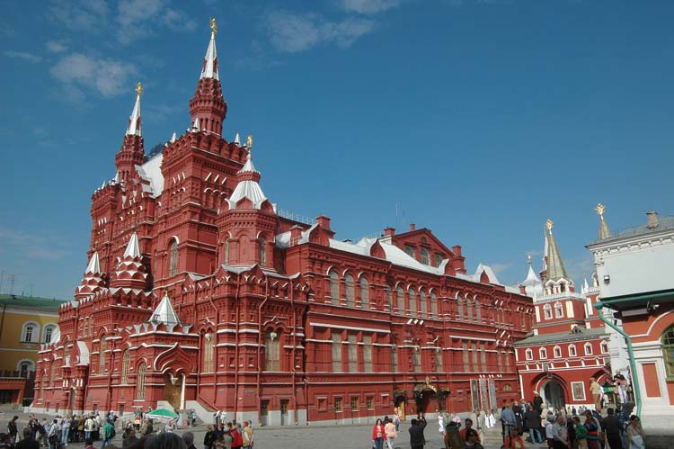 The State Historical Museum, Moscow