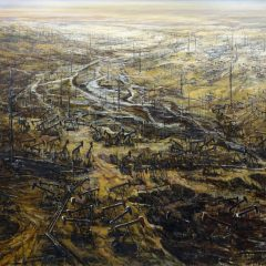 Spoiled Landscapes - Petroleum by Baorong Liang