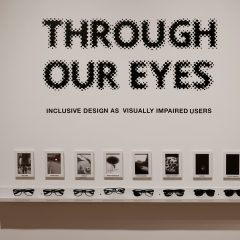 Detail of Through Our Eyes by Angela Piccolo