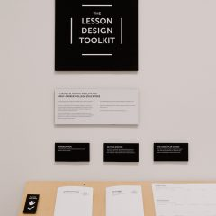 Detail of The Lesson Design Toolkit by Matt Imus